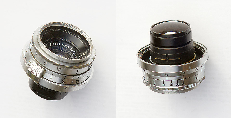Zeiss Biogon 35 mm f28